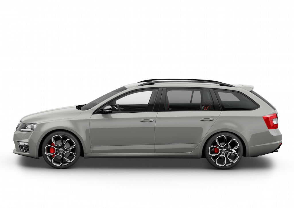 skoda der neue koda octavia rs 230 combi steel grau motornews mobilit t auf den punkt. Black Bedroom Furniture Sets. Home Design Ideas